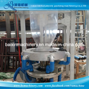 Lime Powder Degradable Plastic Bag Film Blowing Machine pictures & photos
