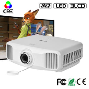 2k LED 300 Inches Projector 3D Movie Beamer Ultra HD pictures & photos