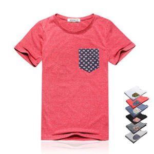 Custom Men Printed Clothes T Shirt with Cotton Fabric pictures & photos