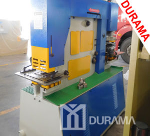 T Bar, H Bar Cutting Machine, Punching Machine, Hydraulic Ironworker pictures & photos