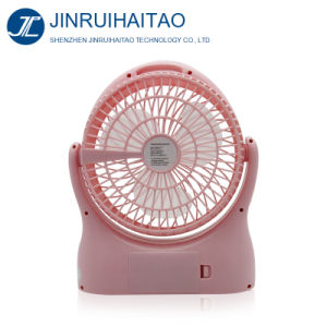 High Speed 10inch Rechargeable Fan DC 12V Mini pictures & photos