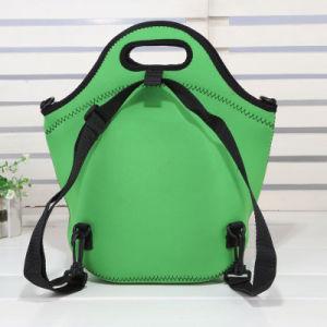 Custom Print New Design Neoprene Lunch Cooler School Bag pictures & photos