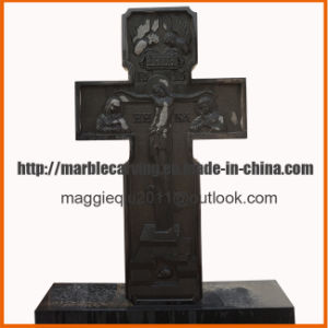 Simple Memorial Headstone with Angel, Gravestone, Graveyard, Tombstone pictures & photos