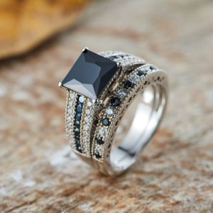Two-Tone Paved Stacking Rings -Set-28 pictures & photos