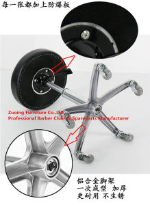 Popular Stool Chair with Stainless Steel Supporter pictures & photos