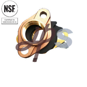 NSF-61 Approved Lead Free Brass or Bronze Water Meter Flange pictures & photos