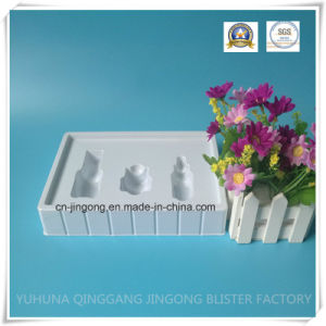 White PVC Cosmetic Blister Packing Tray pictures & photos