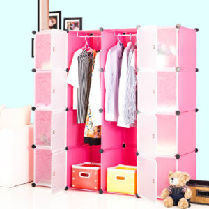 Bedroom Plastic Simple Modern Cheap Wardrobes Storage Systems pictures & photos