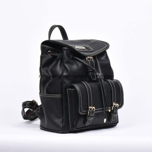 Elegant PU Backpack with Drawstring Closure pictures & photos