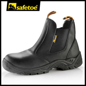 Chukka Safety Shoes Without Lace with Steel Toe