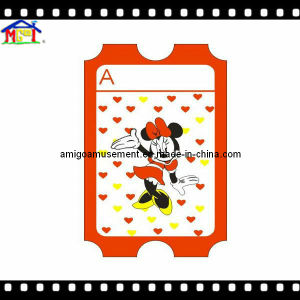 Game Machine Accessories 180g High Quality Paper Ticket pictures & photos