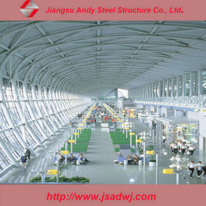 Galvanized Steel Frame Truss Structure Airport Roofing Construction pictures & photos