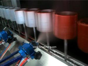 Complete Automatic Fast Color Exchanging UV Painting/Coating Line pictures & photos