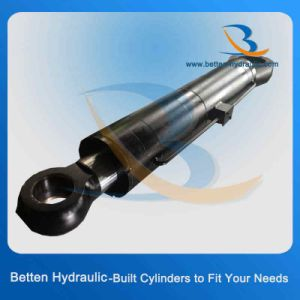 Stainless Steel Barrel Telescopic Hydraulic Cylinder with Proper Price pictures & photos