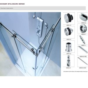 Sliding Door system Fittings Frameless Shower Door Hardware pictures & photos