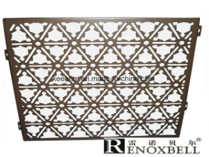 Modern Building Laser Cut Aluminum Wall Panel Design for Decoration pictures & photos