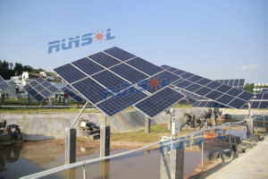 Tilted Single-Axis Solar Tracking System pictures & photos