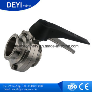 3A Staindard Ss316L Saniatary Butterfly Valve pictures & photos