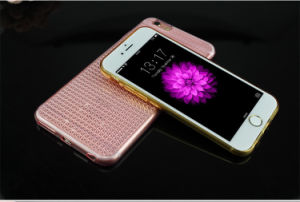 Ultra Thin Diamond TPU Phone Case for iPhone 6/6s/6 Plus pictures & photos