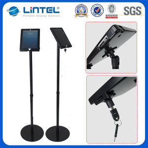 Rotating Tablet Stand Holder with Key Lock (LT-13H2) pictures & photos