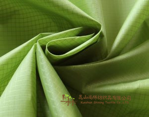 Polyester Ripstop Fabric 210 T Taffeta Waterproof PU Coating for Air Sofa pictures & photos