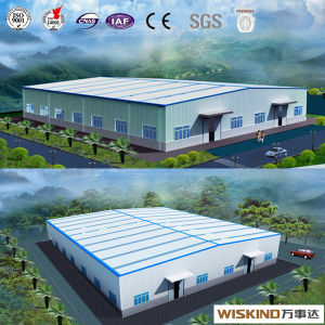 2017 Prefabricated Steel Structure Warehouse Workshop Building pictures & photos