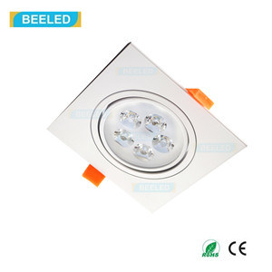 Square 5W Pure White LED Ceiling Lamp Dimmable LED Downlight pictures & photos