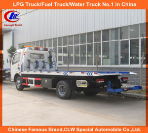 Heavy Duty Dongfeng 4*2 Road Wrecker Trucks 5tons for Sale pictures & photos