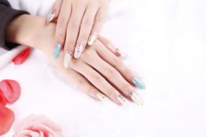 Fashion Colorful Temporary Water Transfer Nail Sticker Art Sticker pictures & photos