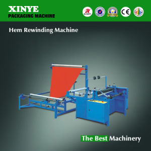 Automatic Non Wovrn Fabric Folding Rewinding Machine pictures & photos