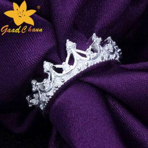 Stsr-16113017 Crown Gem-Set Ladies Sterling Silver Rings pictures & photos