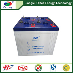 MSDS Approve 2V 1500ah Maintenance Free Battery for UPS System