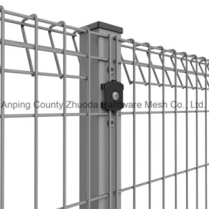 Colorful Powder Coated Galvanized Roll Top Mesh Wire Fence pictures & photos