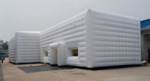 Outdoor White Inflatable Tent Inflatable Cube Tent for Sale pictures & photos