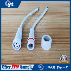 Waterproof Cable with Male & Female 2 Pin Connector pictures & photos