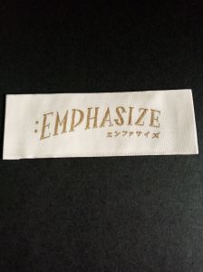 Endfolded Main Clothing Woven Label pictures & photos
