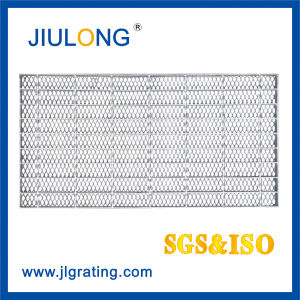 Special Steel Grating--Round Bar Welded in The Middle of Every Flat Bar pictures & photos