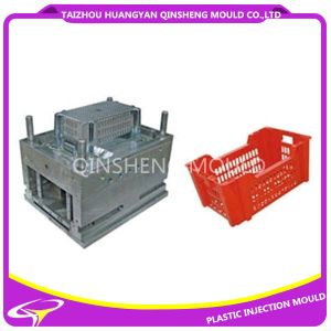 Plastic Injection Thickening Turnover Box Mold pictures & photos