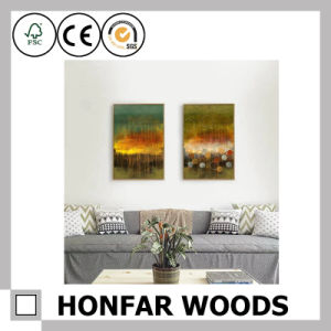 Abstract Art Canvas Painting for Wall Decoration pictures & photos