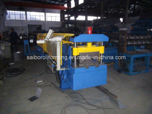 Cap Ridge Forming Machine with Decoiler pictures & photos
