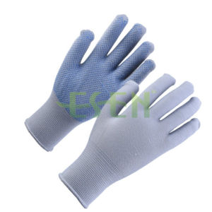 Safety Work Gloves Cotton Knitted Hand Gloves Construction Safety Gloves pictures & photos