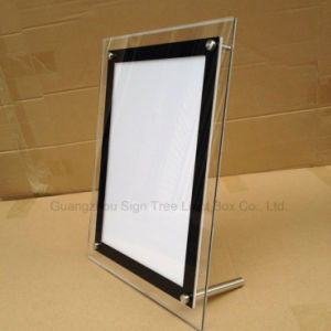 High Quality Slim Crystal Snap Frame LED Light Box pictures & photos