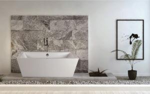 Onsen Modern Design Bathtub, Clear Acrylic Freestanding Bathtub
