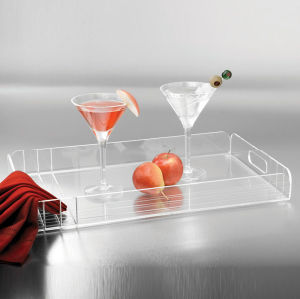 Customize Home Sever Use Clear Color Acrylic Tray pictures & photos