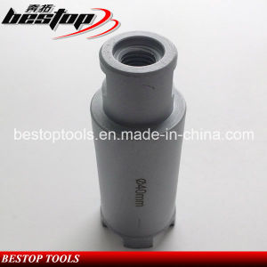 Bestop D40mm Daimond Stone Drilling Bit with Shank pictures & photos