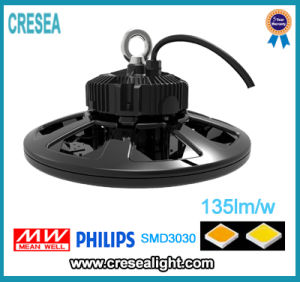 IP65 Ik10 130lm/W cULus Listed 480V High Bay 150W LED High Bay