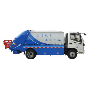 Cummins Engine Small Compression Garbage Truck pictures & photos