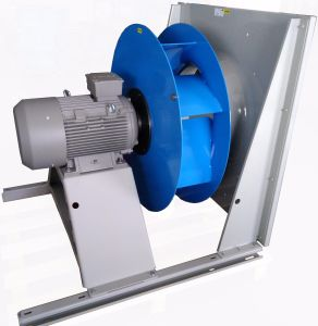 Direct Backward Steel Impeller Cooling Ventilation Exhaust Centrifugal Fan (225mm) pictures & photos