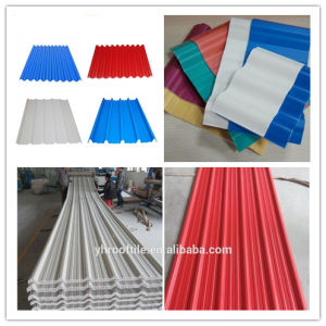 Plastic Spanish Roof Tile/PVC Roofing Tile/PVC Plastic Roofing Sheet