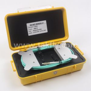 Customized Multimode Om3 Fiber Optic OTDR Launch Cable Box pictures & photos